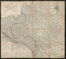 General-Karte vom Westlichen Russland nebst Preussen, Posen und Galizien