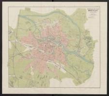 Neuer Plan der Stadt Breslau