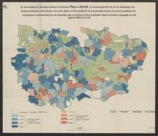 IV. Zu- und Abnahme der deutschen Stimmen in den Kreisen Pless und Rybnik von der Gemeindewahl 1919 bis zur Abstimmung 1921
