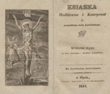 Książka modlitewna i kancyonał dla pospolitego ludu katolickiego