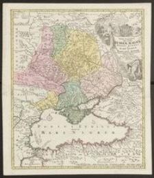 Tabula Geographica qua pars Russiae Magnae Pontus Euxinus seu Mare Nigrum et Tartaria Minor cum finitimis Bulgariae, Romaniae et Natoliae Provinciis