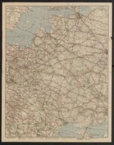 Verkehrskarte der neuen Randstaaten im Osten : von der Ostsee bis zum schwarzen Meer und angrenzende mitteleuropäische Gebiete