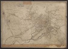 Plan der Stadt Liegnitz