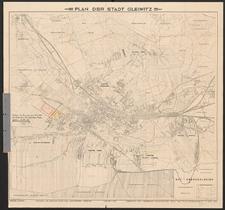 Plan der Stadt Gleiwitz
