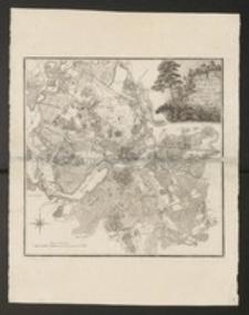Plan von der Insel Potsdam und deren Stadt Gebiet