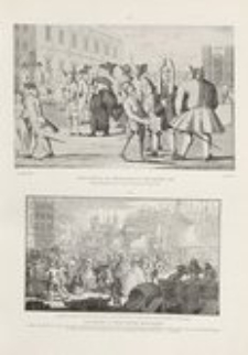 Social caricature in the eighteenth century