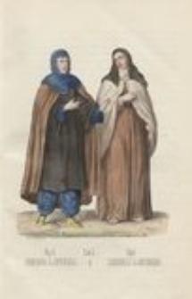 Rys historyczny zgromadzeń zakonnych obojej płci wraz z rycerskiemi zakonami i orderami państw. T. 2, Zakony żeńskie