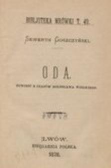 Oda. Powieść z czasów Bolesława Wielkiego