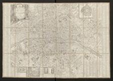 Nouveau plan routier de la ville et fauxbourgs de Paris