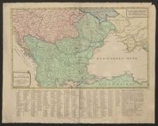 Kriegs-Schauplatz oder Graenz-Carte Oesterreichs, Ruslands und der Türkey von dem Jahr 1789