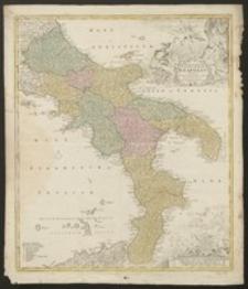 Novissima et exactissima totius Regni Neapolis tabula praesentis belli statui [...]