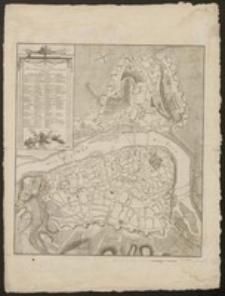 Grundriss der Kais Königl. Hauptstadt Prag im Königreich Böhmen