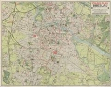 Pharus-Plan Gross-Breslau