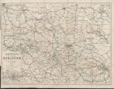Verkehrskarte der Provinz Schlesien nebst einem Verzeichniss, enthaltend sämmtliche Postorte und wichtigste Angaben über dieselben, soweit solche nicht dur Zeichen auf der Karte dargestellt sind