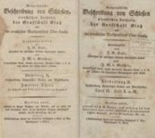 Geographische Beschreibung von Schlesien preußischen Antheils, der Grafschaft Glatz und der preußischen Markgrafschaft Ober-Lausitz. Abt.2. Th.2