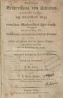 Geographische Beschreibung von Schlesien preußischen Antheils, der Grafschaft Glatz und der preußischen Markgrafschaft Ober-Lausitz. Abt.2. Th.3