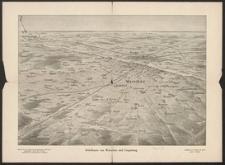 Reliefkarte von Warschau und Umgebung