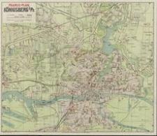 Kleiner Pharusplan von Königsberg