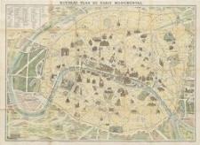 Nouveau plan de Paris monumental