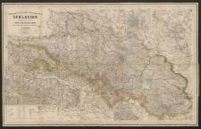 General-Karte von der Königlich Preussischen Provinz Schlesien : u. den angrenzenden Ländertheilen nebs Special Karte vom Riesen-Gebirge und vom Oberschlesischen Bergwerks-und Hütten-Revier