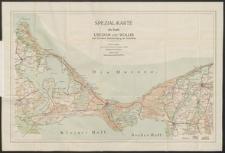 Spezial-karte der Inseln Usedom und Wollin unter besonderer Berücksichtigung der Ostseebäder