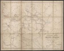Eisenbahn Karte von Mittel Europa : mit Angabe der Dampfschiffahrts-Verbindungen
