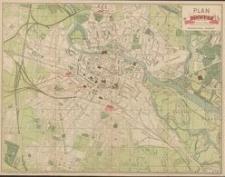 Plan miasta Wrocławia : z alfabetycznym spisem ulic, placów, mostów i dzielnic