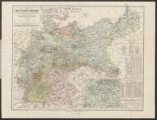 Statistische Karte des Deutschen Reiches : zur Übersicht aller Orte über 3000 Einwohner