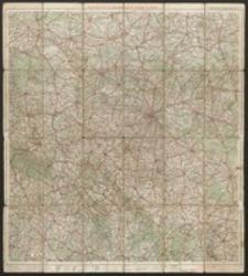 Ravenstein's Rad- und Automobilkarte der Umgegend von Breslau