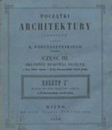 Początki architektury. Cz.3, Składnia budowli ogólna