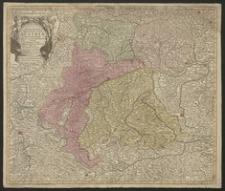 Nova mappa Archiducatus Austria superioris ditiones in suos quadrantes divisas conspectui sistens [...]