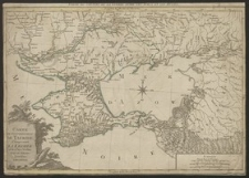 Carte du gouvernement de Tauride, comprenant la Krimée et les pays voisins