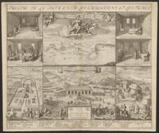 Carte des Environs ou la paix est condue le 26. Jan. 1699
