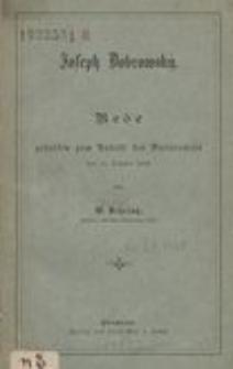 Joseph Dobrowský : Rede gehalten zum Antritt des Rectoramtes den 14. October 1893