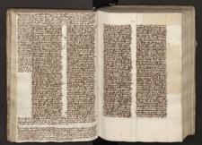 Quadragesimale ; Sermones quadragesimales. Registro postposito ; Registrum Bibliorum metricum