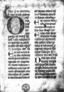 Breviarium de tempore et de sanctis, pars hiem.