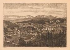 Krummhübel mit dem Riesengebirge