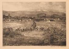 Hirschberg mit dem Gebirgskamm.
