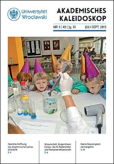 Akademisches Kaleidoskop Jg.11 Nr 3 (43) Juli-September 2013
