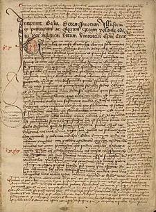 Gesta principum regumque Poloniae ; Versus nonnulli de quodam advocato Cracoviens ; Peregrinatio in terram sanctam ; Chronicon Polonicum ad annum 1390
