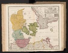 Regni Daniae in quo sunt Ducatus Holsatia et Slesvicum Insulae Danicae, Provinciae Iutia Scania Blekingia etc. Nova tabula