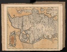 Iutiae tabula in qua sunt Dioeceses Alburgensis, Wiburgensis, Ripensis et Arhusiensis quae et sunt Divisae in Omnia Dominia