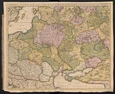 Carte du Teatre de la Guerre dans la Pologne, Moscovie & Turquie
