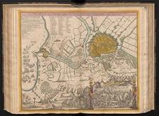 Das belagerte Danzig eine Weltberühmte Haupt und Handelstatt des Polnischen Preussens, mit ihren Vorstædten und der Weichselmünder Schanz, wie solche vom 14. Febr. 1734 von denen Russen eingeschlossen, von 20. Mart. aber biß zu der den 7.ten Jul. erfolgten Ubergabe, förmlich belagert worden