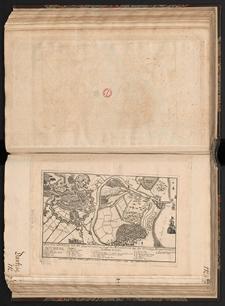Plan von Danzig mit der Gegent und aus lauff des Weixelstrom bey der Vestung Weixelmünde.