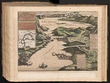 Vorstellung der berümten Türckischen Vestungen Dardanelli an der Meer Enge Hellesponti Zusamt der Situation der Statt Constantinopel.
