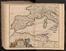 Accuratissima Occidentalioris districtus Maris Mediterranei tabula. Authore Iusto Danckerts