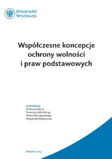 Wolność i jej ochrona w myśli Mirosława Dzielskiego