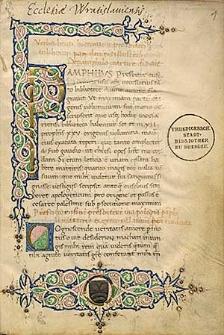 Apologia pro Origene; Tractatus pro Origene