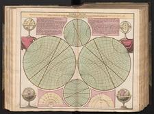 Sfaera Mundi per circulos tam primarios quam secundarios cum punctis, lineis et angulis notabilioribus in triplici respectuhorisontis situ...exhibita a Ioh.Gabr.Doppelmeiero